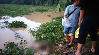 Jenazah Suryo Utomo, dosen ITB yang hilang, ditemukan di Waduk Cirata, Kabupaten Cianjur, Jawa Barat. (Foto: Istimewa/Humas Polda Jabar/Liputan6.com/Aditya Prakasa)