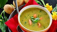 Ilustrasi sup kentang. (dok. Pixabay.com/RitaE)