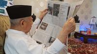 Calon Wakil Presiden Ma'ruf Amin. (Liputan6.com/Ratu Annisaa Suryasumirat)