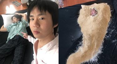 7 Momen Kocak Pria Jahili Pacarnya Jadi Ayam Goreng Ini Bikin Geleng Kepala