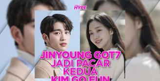 Jinyoung GOT7 Jadi Pacar Kedua Kim Go Eun di Drakor Yumi's Cells