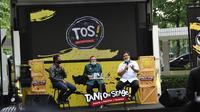 Direktur Jenderal Peternakan dan Kesehatan Hewan Kementan, I Ketut Diarmita di Talkshow, Tani on Stage (TOS) yang digelar di pelataran parkir Gedung C Kementerian Pertanian, Selasa (21/7).