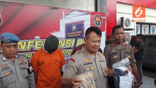 Polisi menangkap senior Aldama (Fauzan/Liputan6.com)