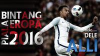 Gelandang andalan Inggris diprediksi akan bersinar di Piala Eropa 2016 berkat gol-gol cantik dan assistnya yang bersama Tottenham Hotspur.