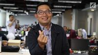 Calon Gubernur Jawa Barat Ridwan Kamil. (Liputan6.com/Fatkhur Rozaq)