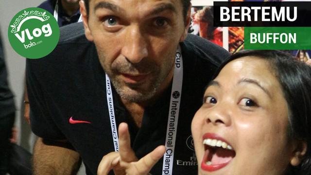 Berita video VLOG Bola.com langsung dari International Champions Cup (ICC) di Singapura kali ini soal pertemuan dengan Gianluigi Buffon dan Henrikh Mkhitaryan setelah pertandingan Arsenal vs PSG.