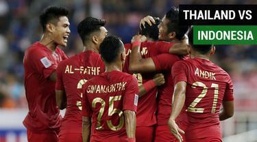 Berita video gol-gol yang tercipta pada laga ketiga grup B Piala AFF 2018, Thailand vs Timnas Indonesia, di Stadion Rajamangala, Bangkok, Sabtu (17/11/2018).