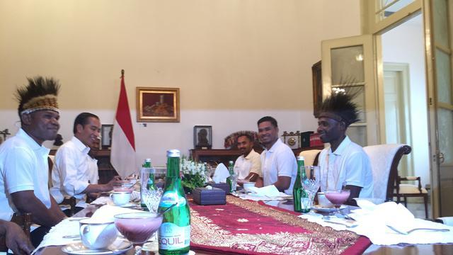 Jokowi Undang Pemenang Gapura Cinta Asal Papua Makan Siang di Istana