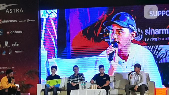 Gabung di Tim Esports Profesional, Kaesang Pangarep Masih Duduk di Bangku Cadangan. (Liputan6.com/ Pramita Tristiawati)