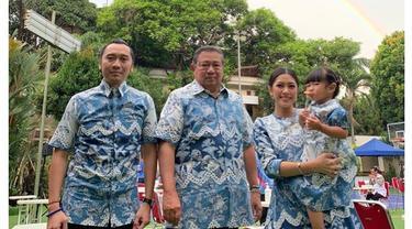 5 Potret Terbaru SBY Rayakan Idul Fitri, Lebaran Kedua Tanpa Ani Yudhoyono