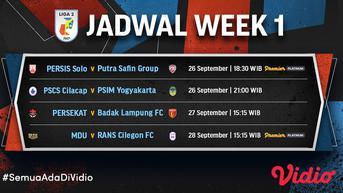 Baru Main di Vidio, Live Streaming Liga 2 PSCS Cilacap vs PSIM Yogyakarta