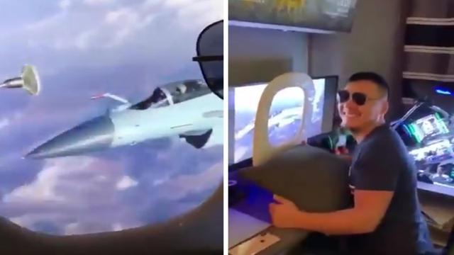 Foto ala di pesawat