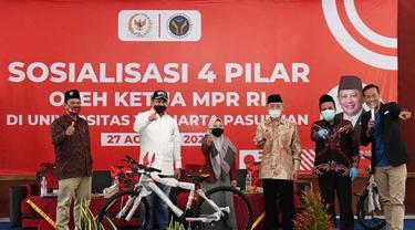 Sosialisasi Empat Pilar di Universitas Yudharta, Bamsoet Dorong Mahasiswa Jadi Benteng Penjaga Pancasila