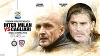 Inter Milan vs Cagliar (Liputan6.com/Abdillah)