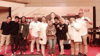 Saraswati saat acara 'Ngobrol Bareng Rahayu Saraswati feat Sabyan', (Merdeka.com)