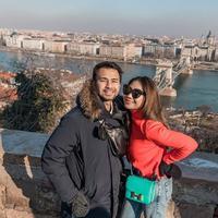 Raffi Ahmad dan Nagita Slavina mengunjungi Danube River yang berada di Budapest, Hungaria (Dok.Instagram/@raffinagita1717/https://www.instagram.com/p/B7vUzY2BBct/Komarudin)