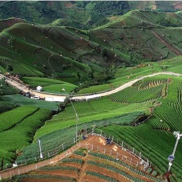 Kawasan Wisata Bukit Panyaweuyan Majalengka yang Dipromosikan Ridwan Kamil