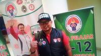 Journalist Kemenpora FC siap memenangi turnamen futsal antar unit di Kemenpora (istimewa)