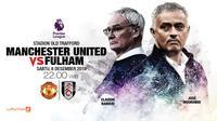 Manchester United vs Fulham (Liputan6.com/Abdillah)