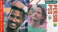 Shopee Liga 1 - Persib Bandung Vs PSS Sleman - Duel Pemain (Bola.com/Adreanus Titus)