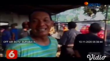 Si jago merah melahap rumah sekaligus bengkel di Magetan, Jawa Timur. Diduga terjadi kebocoran pada tabung gas yang menyebabkan kompor meledak.