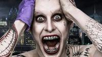 Jared Leto sebagai Joker di film Suicide Squad.