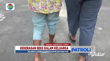 Duda tiga anak itu sempat kabur dari rumah begitu mengetahui perbuatan bejatnya dilaporkan ke polisi pada Rabu pagi.