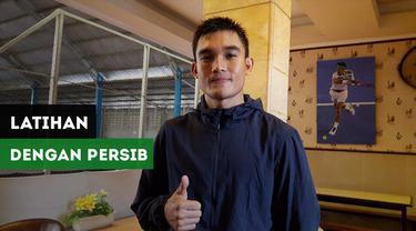Berita video pemain anyar Persib Bandung, Zalnando memulai latihan bersama skuat Maung Bandung.