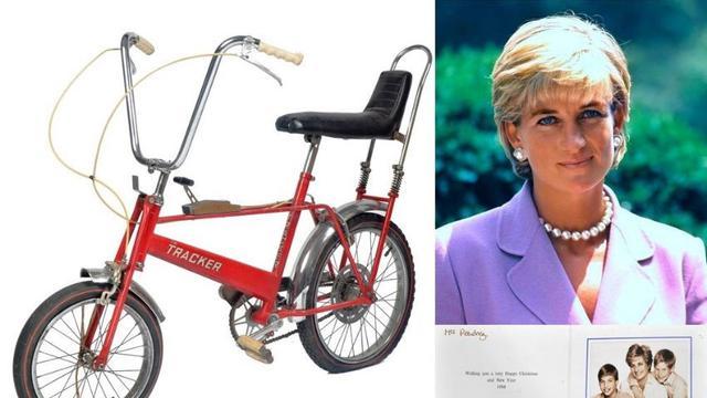 Sepeda Masa Kecil Putri Diana Bakal Dilelang, Pemenang Akan Diberi Bonus