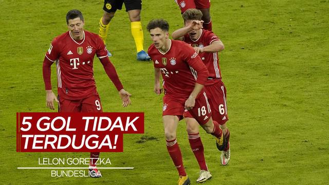 Berita Video 5 Gol Tak Terduga di Bundesliga Pekan 24, Cek Torehan Leon Goretzka di Der Klassiker
