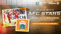 Allianz Walk with AFC Stars Persija Jakarta