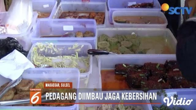 BPOM Sulawesi Selatan sidak takjil yang dijajakan pedagang di Mariso, Makassar.