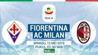 Serie A - Fiorentina Vs AC Milan (Bola.com/Adreanus Titus)