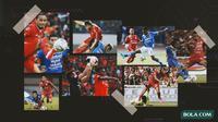 Kolase - Persija Jakarta Vs Persib Bandung (Bola.com/Adreanus Titus)