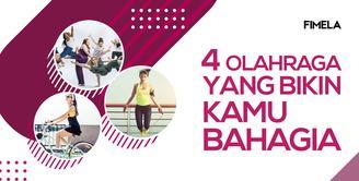 4 Olahraga yang Bikin Kamu Bahagia