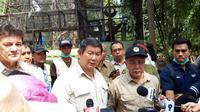 Hashim S Djojohadikusumo meresmikan Pusat Suaka Orangutan (PSO) ARSARI di Penajam Paser Utara, Kalimantan Timur. (Liputan6.com/ Aceng Mukaram)