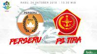Liga 1 2018 Perseru Serui Vs PS Tira (Bola.com/Adreanus Titus)