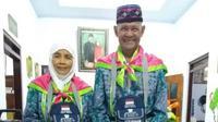 Seorang haji asal Jombang, Kusnarto, meninggal dunia saat berwudu. (Dream)