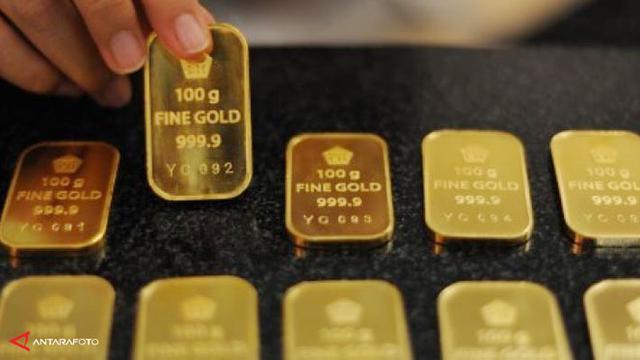 Emas Batangan Berlogo Pegadaian Kalah Tenar Dengan Antam Bisnis