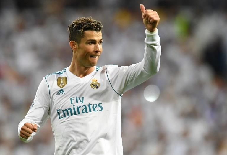 Penyerang Real Madrid, Cristiano Ronaldo, memiliki catatan gemilang ketika berjumpa Liverpool dalam sejarah kariernya. (AFP/Christof Stache)