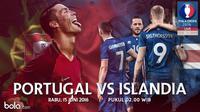 Eropa 2016 Portugal Vs Islandia (Bola.com/Adreanus Titus)