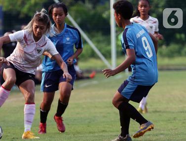 Aksi Timnas Putri Indonesia Saat Lakoni Internal Game