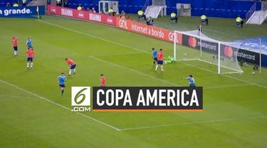 Perebutan puncak juara grup C Copa America terjadi antara Uruguay dan Chile. Dengan gol tunggal, Uruguay berhasil mengalahkan Chile.