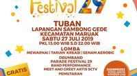 Festival 29 SCTV serentak digelar di Tuban dan Banjarnegara