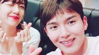 Ari eks Tahiti dan Ryeowook Super Junior (Foto via Koreaboo)