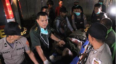 Proses Evakuasi Korban Serangan KKB Papua