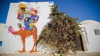 Proyek karya seni pameran jalanan di Tunisia
