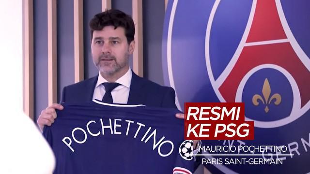 Berita Video PSG Resmi Tunjuk Mauricio Pochettino Sebagai Pelatih