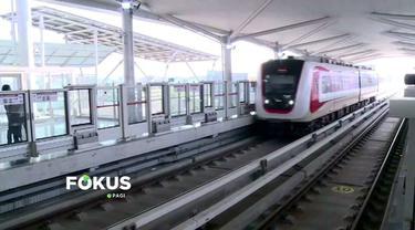 Masyarakat bisa mendaftarkan diri secara online bila ingin menikmati uji coba gratis LRT Jakarta.