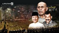 Banner Infografis 3 Purnawirawan Terseret Pusaran Kasus Kerusuhan Mei 2019. (Liputan6.com/Triyasni)